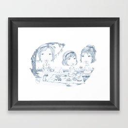 Camping Company Framed Art Print