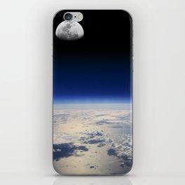 Earth and Moon iPhone Skin