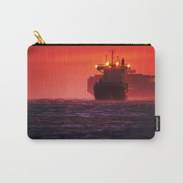 Ships in the windstorm Carry-All Pouch