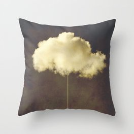 Im a cloud stealer Throw Pillow
