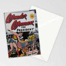Comic Number 7 Stationery Cards