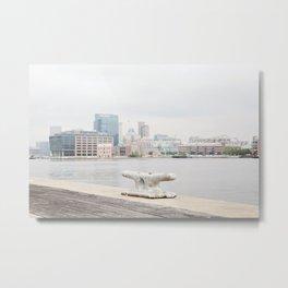 A harbor view Metal Print