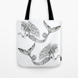 MermAngel Tote Bag