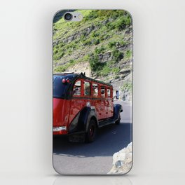 Iconic Red Bus iPhone Skin