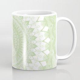 Boho Pastel Green Mandala Coffee Mug