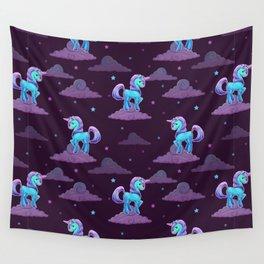 Cute Unicorn Pattern Wall Tapestry
