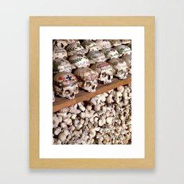 "Hallstatt, Austria Beinhaus ""Bone House"" Framed Art Print"