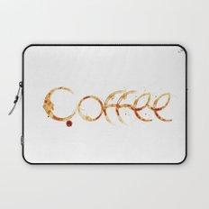 Coffe colors fashion Jacob's Paris Laptop Sleeve