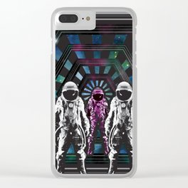 Welcome, Traveler Clear iPhone Case