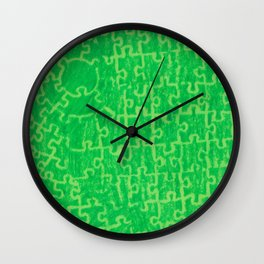 Life is a puzzle 14 Wall Clock