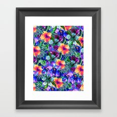 My Tropical Garden 9 Framed Art Print