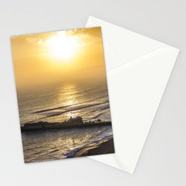 Sunset in Lima Peru Stationery Cards