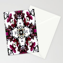 Thorny Issue Abstract Pattern Stationery Cards