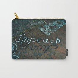 Spray paint: Impeach Trump Carry-All Pouch