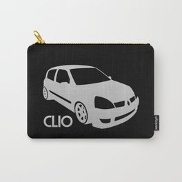 Renault Clio - silver - Carry-All Pouch