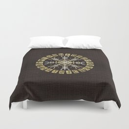 The helm of awe Duvet Cover