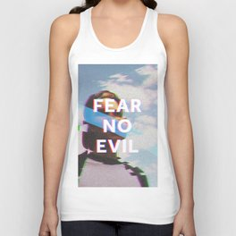 Fear No Evil  Unisex Tank Top