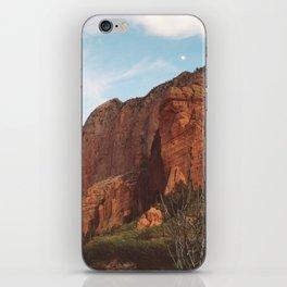 Full Moon Rising Over Kolob Canyons, Utah iPhone Skin