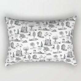 Dog's Renaissance Rectangular Pillow
