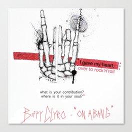 """Biffy Clyro - """"on a bang"""" Canvas Print"""