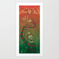 One, Two, Freddy's Coming For You Art Print