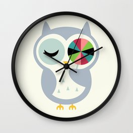 Sweet Holiday Wishes Wall Clock