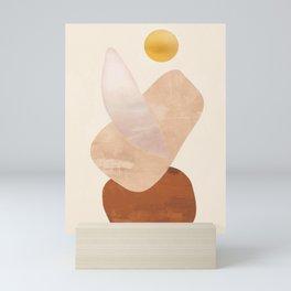 Abstact Shapes Mini Art Print