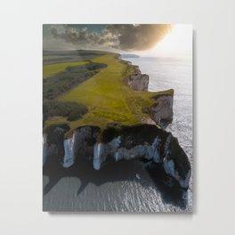 Coast of England Metal Print