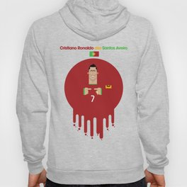 Cristiano Ronaldo Portugal Illustration Hoody