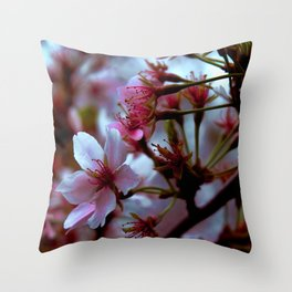 blooming in New england Throw Pillow