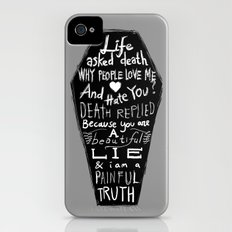 Life asked death... Slim Case iPhone (4, 4s)