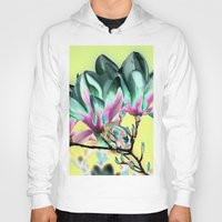 popart Hoodies featuring MAGNOLIA - PopArt by CAPTAINSILVA