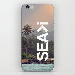 SEA>i  |  Back to Lanikai iPhone Skin