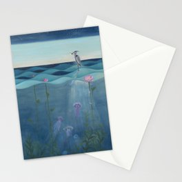 The Deep Blue Stationery Cards
