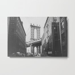 NEW YORK CITY VIII / Brooklyn Bridge Metal Print