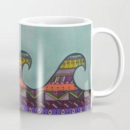 Mandala Waves Coffee Mug