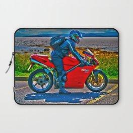 Two Wheels Laptop Sleeve