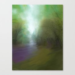 Stream of Light Canvas Print