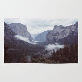 Yosemite, Tunnel view Rug
