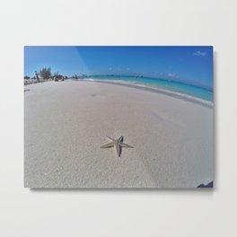 Starfish Beach Metal Print