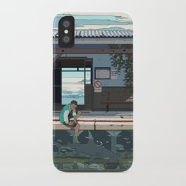 High Tide Tracks iPhone Case