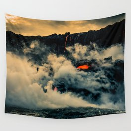 The Head of the Dragon Wall Tapestry