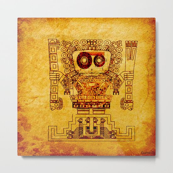 The last divinity musical of the Mayan empire Metal Print