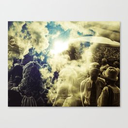 """Sun Watchers"" Canvas Print"