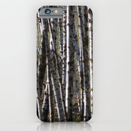 Messy trees iPhone Case