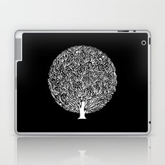 Black and White Tree Laptop & iPad Skin