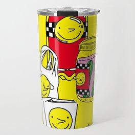 Happy Lifestyle Brand Travel Mug