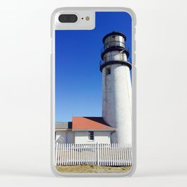 Highland Light Clear iPhone Case