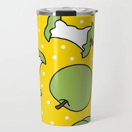 Apples with Polka Dots  Travel Mug