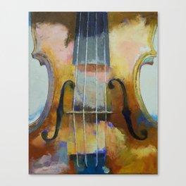 Violin Painting Canvas Print